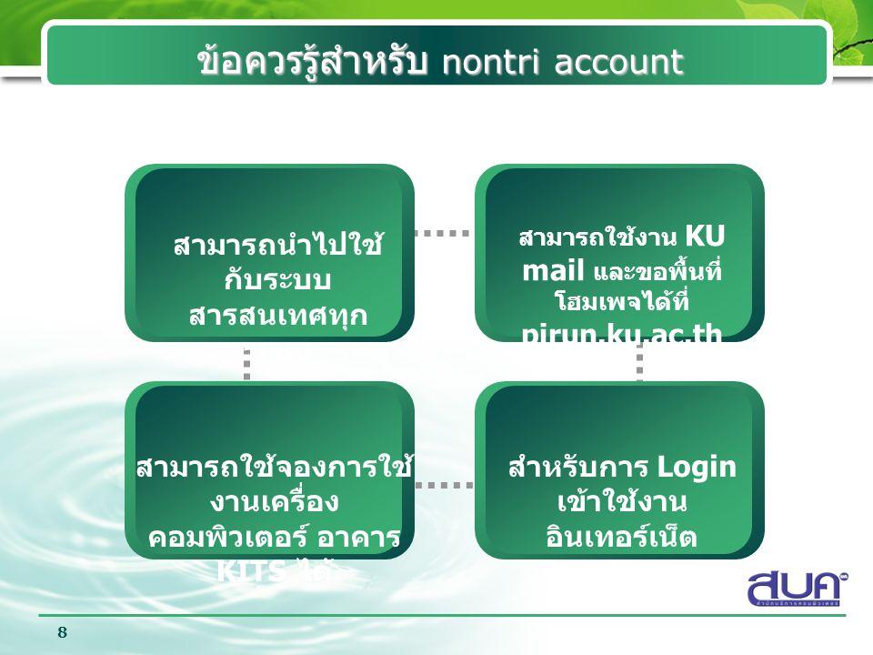 Company Logo 9 การตรวจสอบ Nontri Account ว่าใช้งานได้ จริงหรือไม่ .