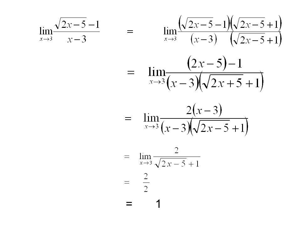 โดยให้ y 3 = 8 + x จะได้ว่า เมื่อ x -->0 แล้ว y -->2 ดังนั้น ต้องการหา โดยใช้วิธีเปลี่ยนตัวแปรเพื่อกำจัดรากที่สาม