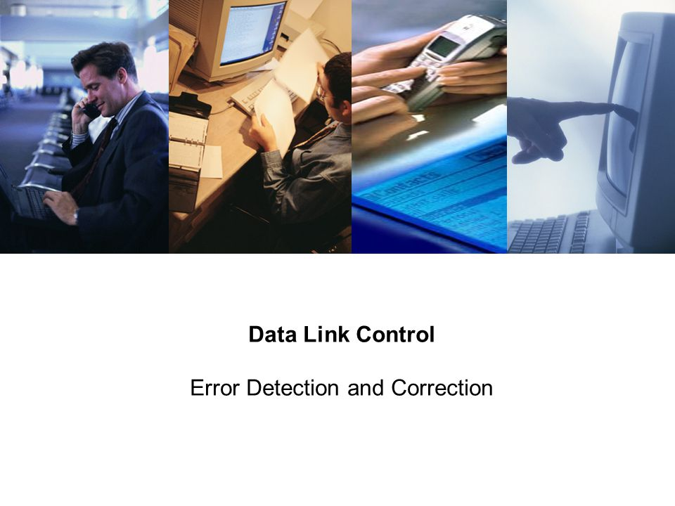 Data Link Control Error Detection and Correction