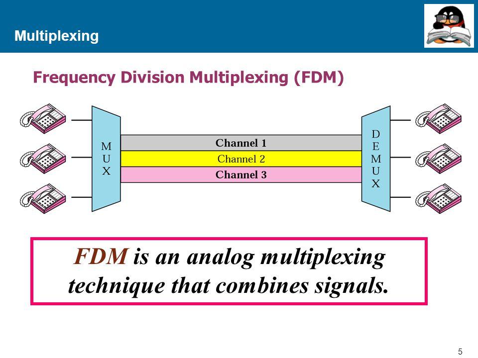 16 Proprietary and Confidential to Accenture Multiplexing สรุปแนวทางการทำงานของ FDM จะเห็นได้ว่าวิธีการ FDM จะมีการแบ่งช่องสัญญาณออกเป็นส่วนๆ เพื่อ แจกจ่ายให้กับอุปกรณ์ย่อยๆ เป็นช่องประจำตัวสำหรับใช้รับส่งข้อมูล ฉะนั้น หากอุปกรณ์ใดไม่มีการรับส่งข้อมูล ก็จะเป็นการเปลือง ช่องสัญญาณซึ่งผู้อื่นไม่สามารถเข้ามาใช้ได้ ทำให้ไม่เกิดประโยชน์ สูงสุด