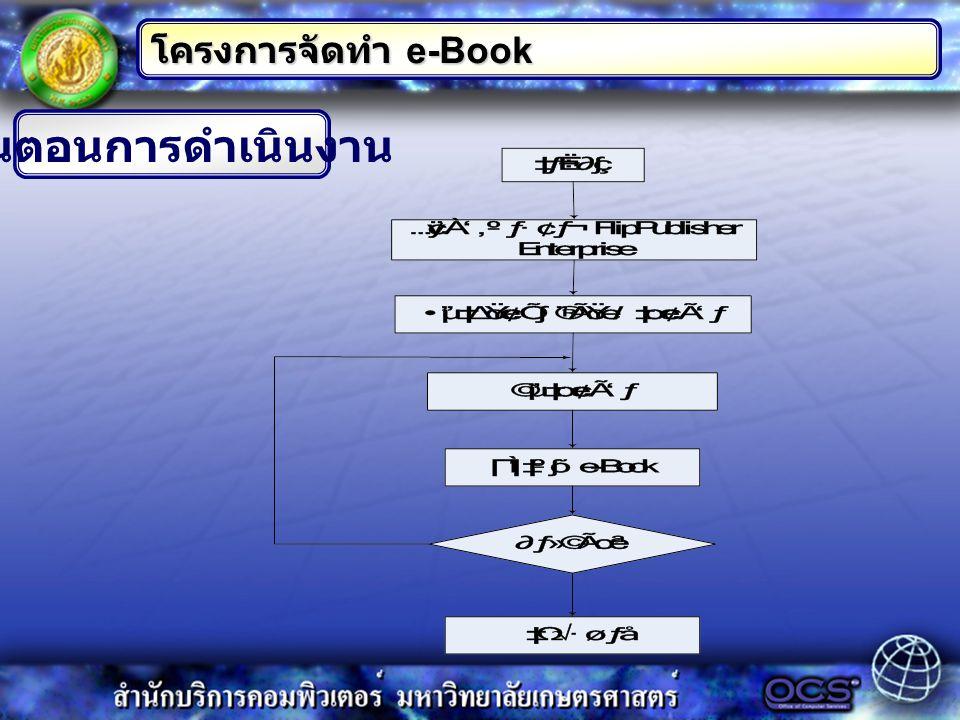 อุปกรณ์ที่ใช้ โครงการจัดทำ e-Book 1.