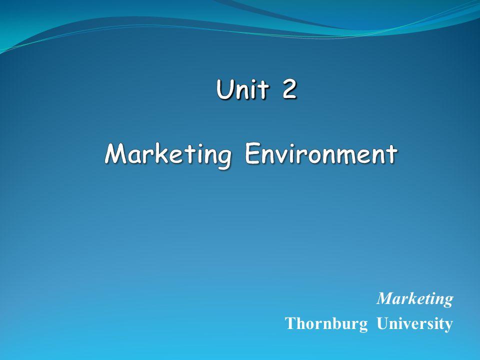 Marketing Thornburg University