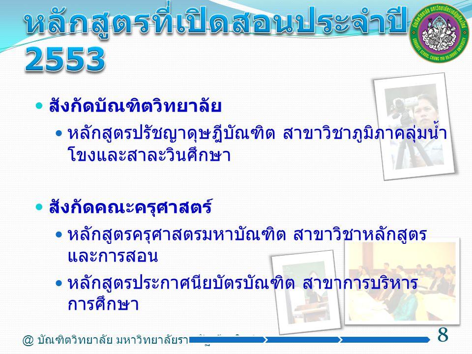 สังกัดคณะมนุษยศาสตรและสังคมศาสตร์ หลักสูตรศิลปศาสตรมหาบัณฑิต สาขาวิชาภาษาไทย หลักสูตรศิลปศาสตรมหาบัณฑิต สาขาวิชาการจัดการการ ท่องเที่ยวอย่างยั่งยืน หลักสูตรรัฐประศาสนศาสตรมหาบัณฑิต สาขาวิชานโยบาย สาธารณะ สังกัดคณะวิทยาการจัดการ หลักสูตรบริหารธุรกิจมหาบัณฑิต สาขาวิชาการบริหารธุรกิจ หลักสูตรนิเทศศาสตรมหาบัณฑิต สาขาวิชาสื่อและการ สื่อสารเชิงกลยุทธ์ 9 @ บัณฑิตวิทยาลัย มหาวิทยาลัยราชภัฏเชียงใหม่