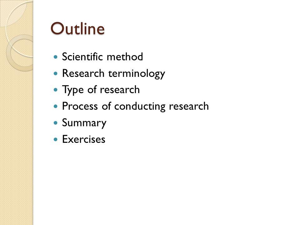 Scientific method Scientific method ( วิธีการทาง วิทยาศาสตร์ ) คือ การแสวงหาความรู้หรือความ จริงทางวิทยาศาสตร์อย่างมีกระบวนการที่เป็น แบบแผน มีขั้นตอนที่สามารถปฏิบัติตามได้ The scientific method attempts to minimize the influence of the researchers bias on the outcome of an experiment.