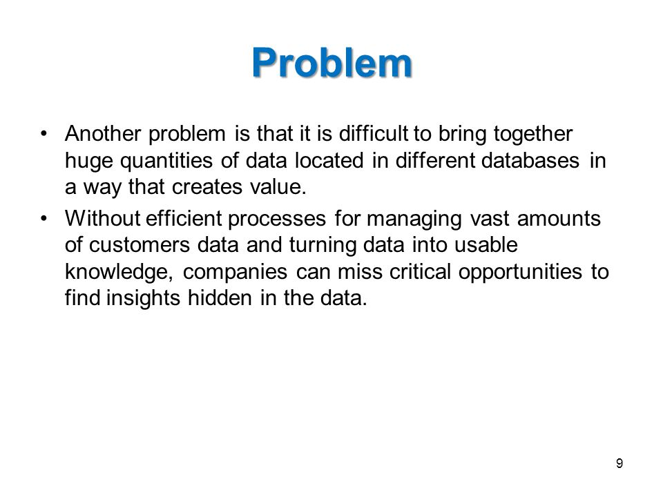 Relational & Multidimensional Databases 2001 80