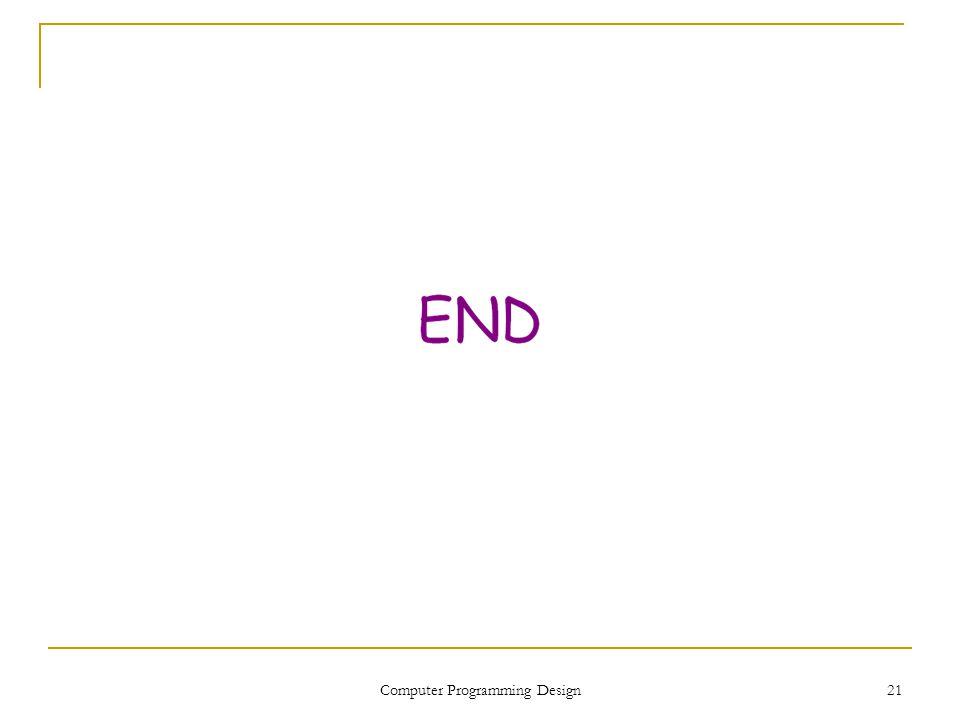 21 Computer Programming Design
