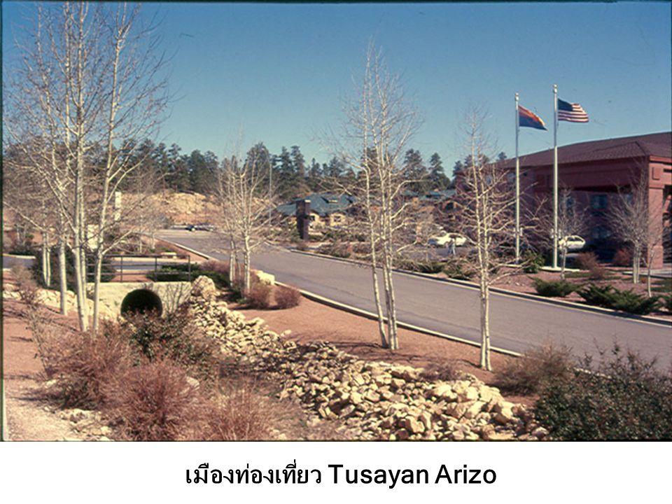 เมืองท่องเที่ยว Tusayan Arizo
