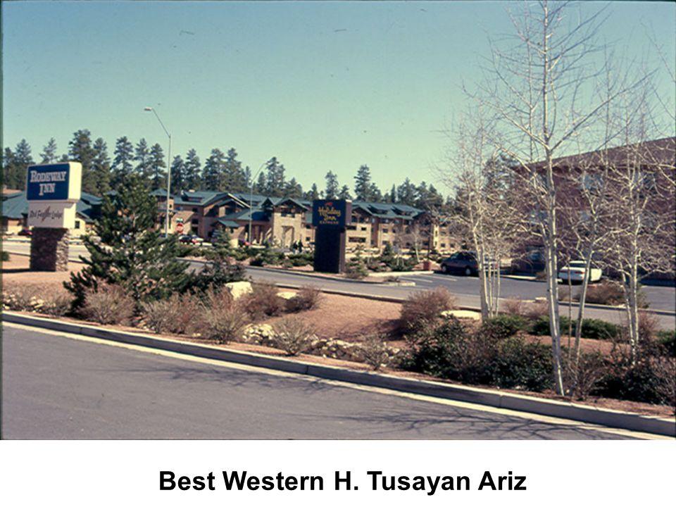 Best Western H. Tusayan Ariz