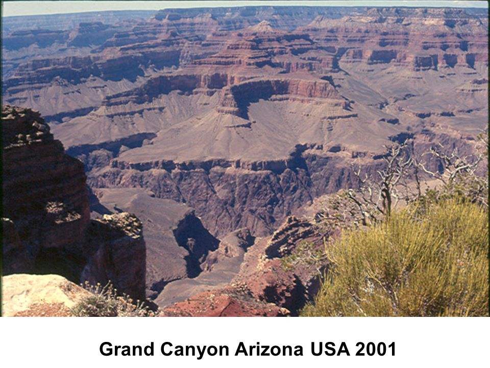 Grand Canyon Arizona USA 2001
