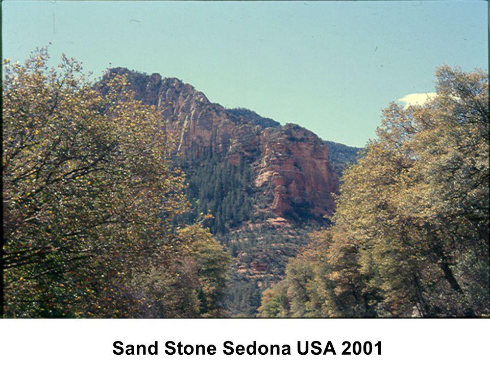 Sand Stone Sedona USA 2001