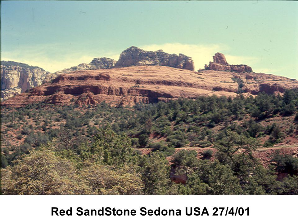 Red SandStone Sedona USA 27/4/01