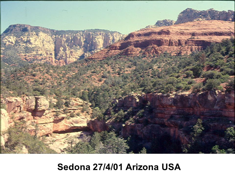 Sedona 27/4/01 Arizona USA