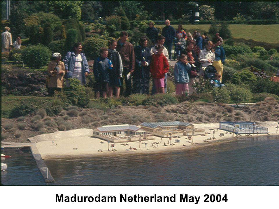 Madurodam Netherland May 2004