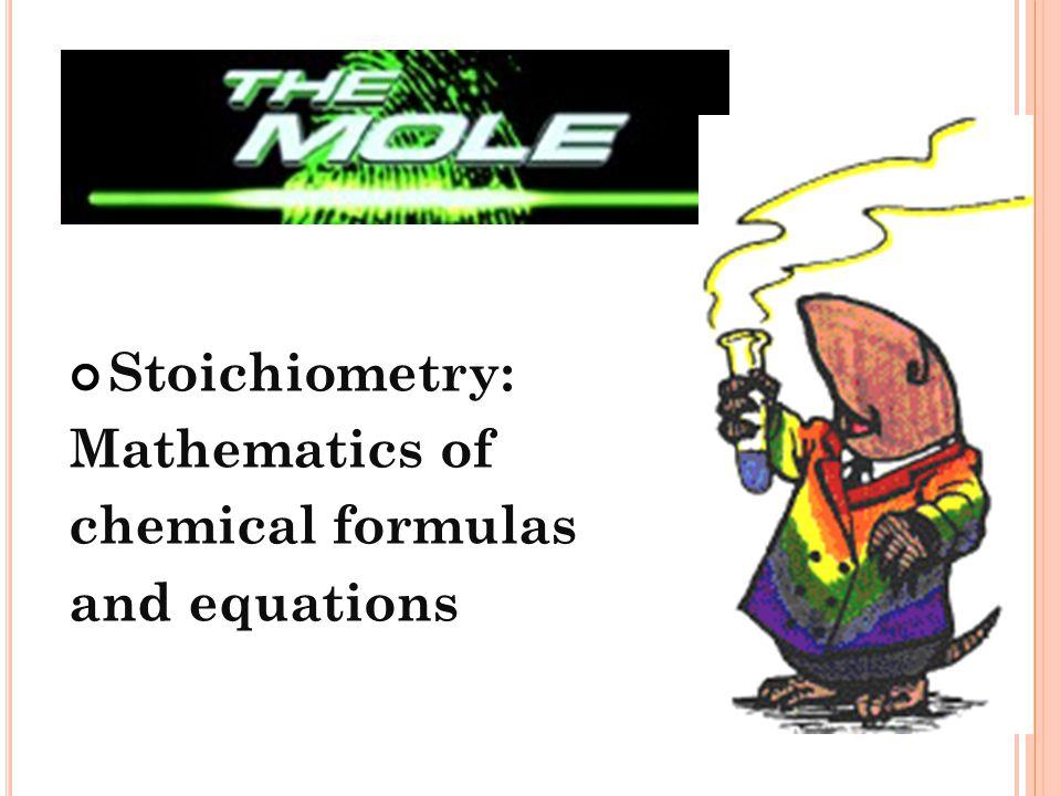 Molecular Mass (g) 1 mole or 1 mole Molecular Mass (g) C ONVERSION F ACTOR C ONVERSION F ACTOR