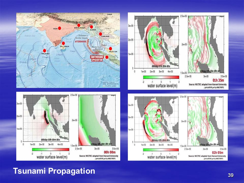 39 Tsunami Propagation
