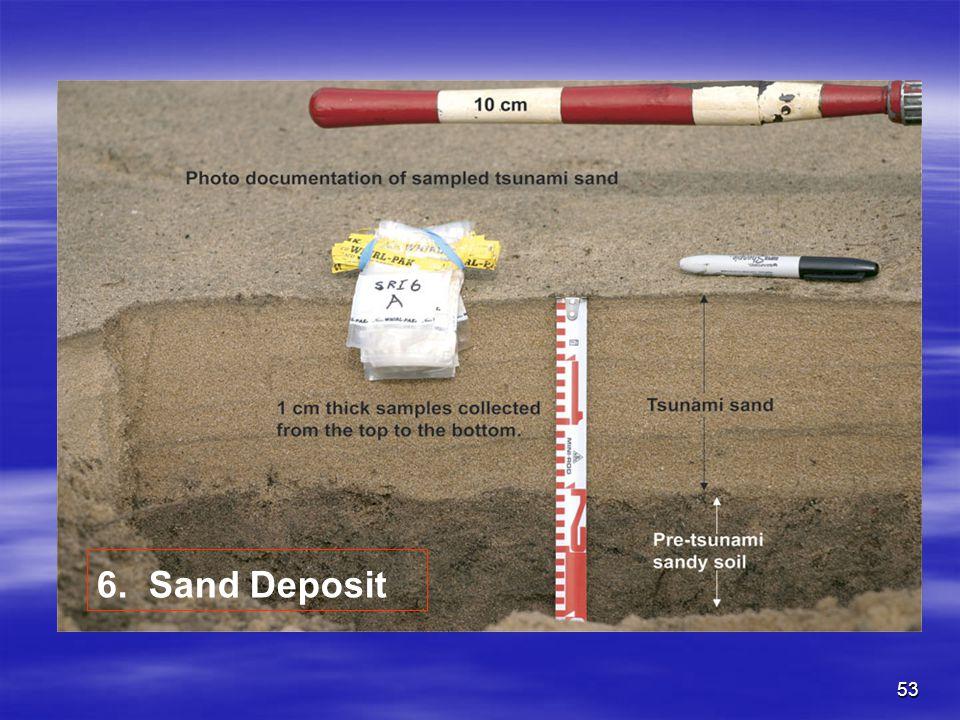 53 6. Sand Deposit
