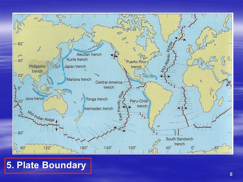 8 5. Plate Boundary