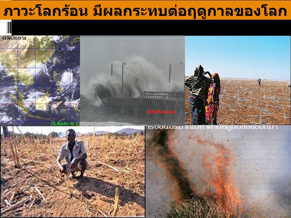 Global warming : Climate change ภาวะโลกร้อน มีผลกระทบต่อฤดูกาลของโลก