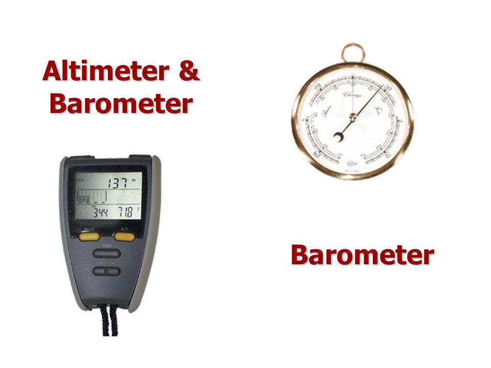 Barometer Altimeter & Barometer