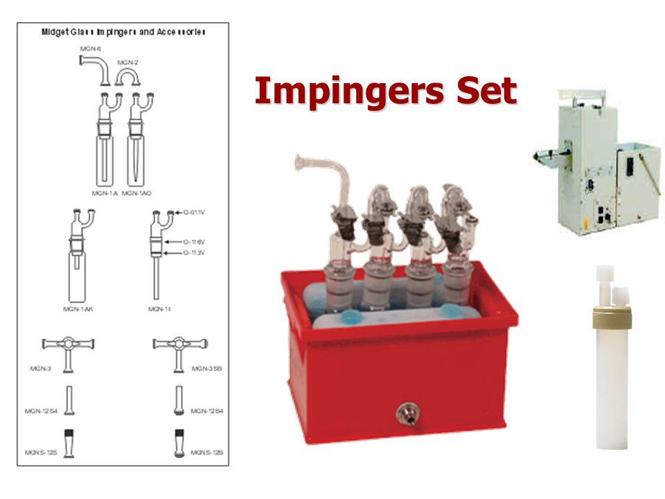 Impingers Set