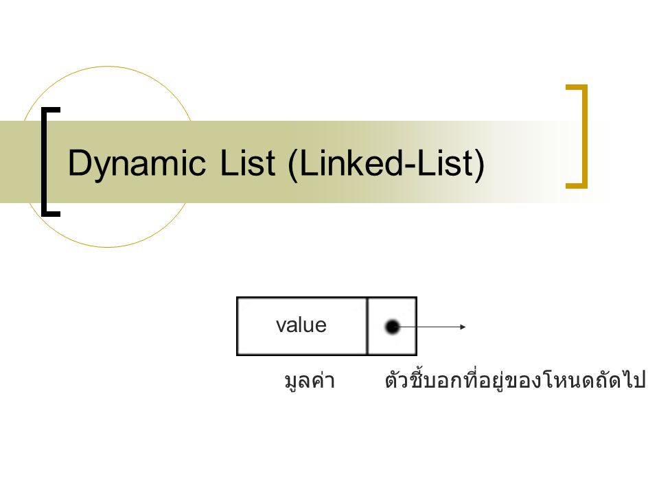 204311 File Management & Data Structure16 Advantages of Linked-List Size is unlimited (depends on memory space) More efficient when insert or delete element of the list.