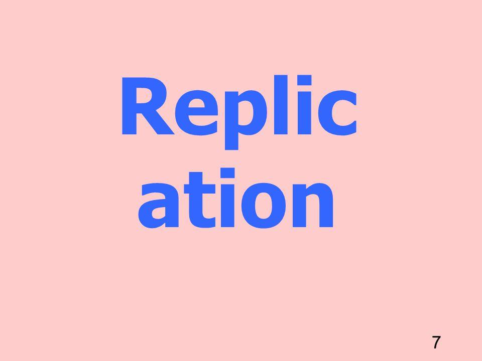 7 Replic ation