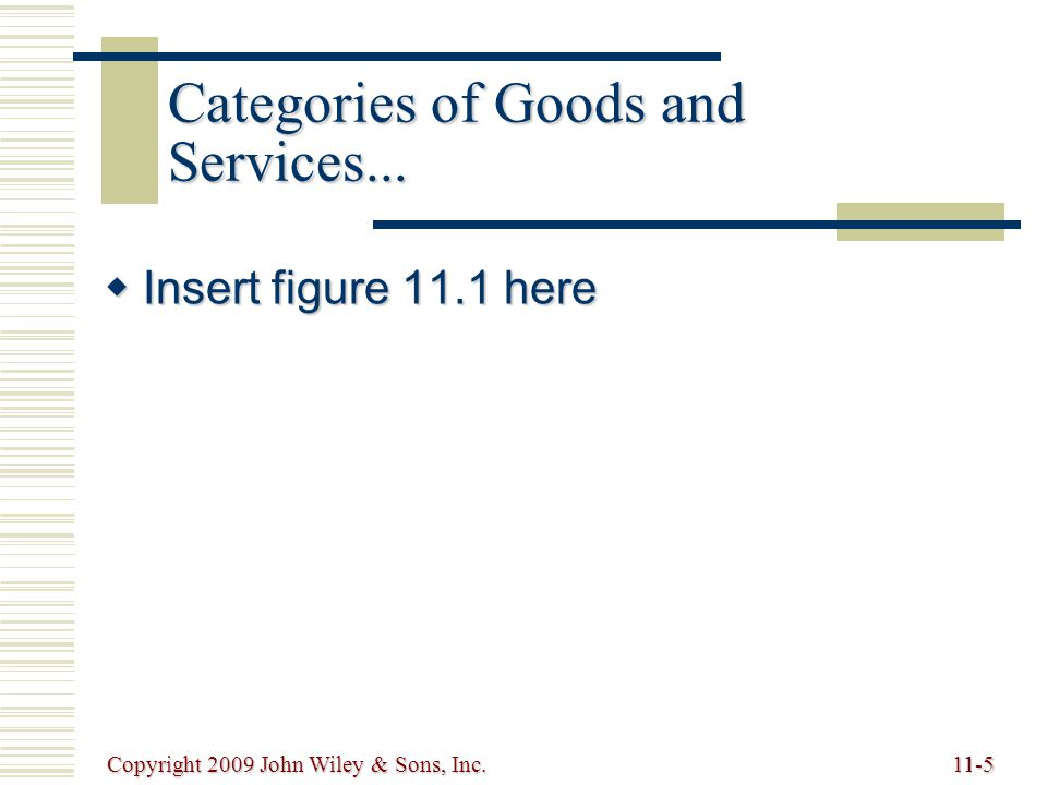 Copyright 2009 John Wiley & Sons, Inc.11-26 Web-based International Trade Logistic Systems   International trade logistics web-based software systems reduce obstacles to global trade convert language and currency provide information on tariffs, duties, and customs processes attach appropriate weights, measurements, and unit prices to individual products ordered over the Web incorporate transportation costs and conversion rates calculate shipping costs online while a company enters an order track global shipments