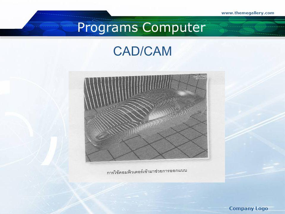 www.themegallery.com Company Logo Programs Computer CAD/CAM