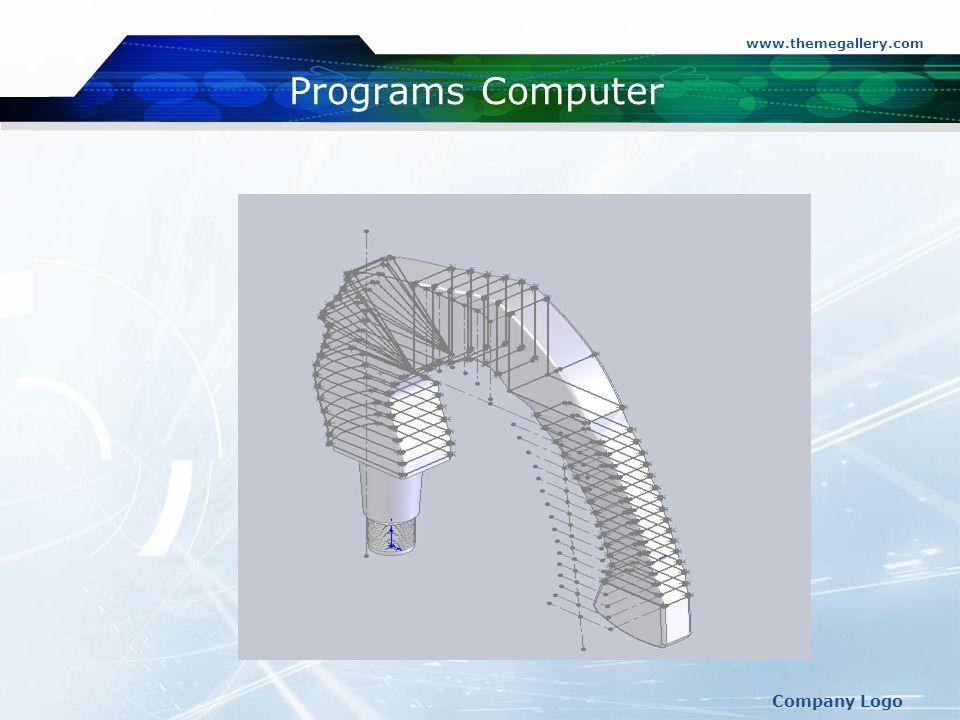 www.themegallery.com Company Logo Programs Computer