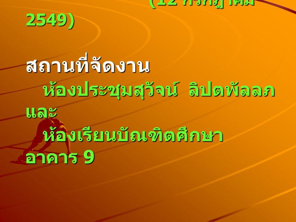 กำหนดการประชุม กำหนดการประชุม 08.00 - 08..45 น.ลงทะเบียน 08.45 - 09..00 น.