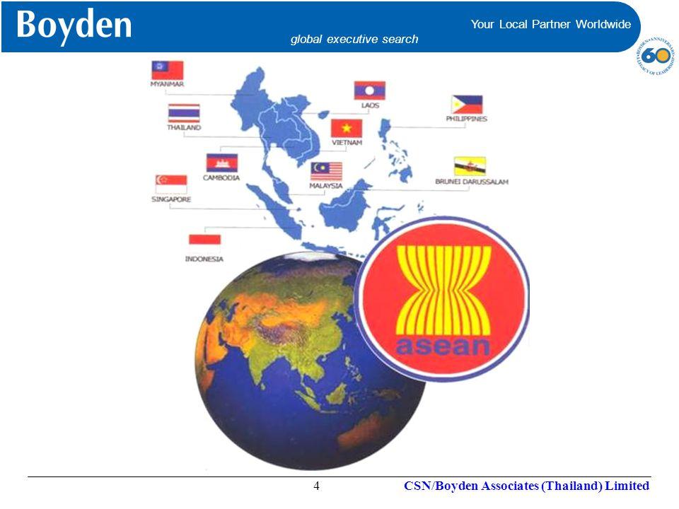 Your Local Partner Worldwide global executive search Your Local Partner Worldwide global executive search CSN/Boyden Associates (Thailand) Limited15 องค์ความรู้ และทักษะต่างๆ บทบาทที่แสดงออก ต่อสังคม (Social Role) ภาพลักษณ์ภายใน (Self-Image) อุปนิสัย (Traits) แรงผลักดันเบื้องลึก (Motives) ที่มาของ Competency ข้อมูลความรู้ที่บุคคล มีในสาขาต่างๆ ความเชี่ยวชาญ ชำนาญพิเศษในด้านต่างๆ จินตนาการแนวโน้มวิธีคิดวิธีปฏิบัติ อันเป็นไปโดยธรรมชาติของบุคคล บทบาทที่บุคคลแสดงออกต่อผู้อื่น ความเคยชิน พฤติกรรมซ้ำๆ ในรูปแบบใดรูปแบบหนึ่ง ความรู้สึกนึกคิดเกี่ยวกับเอกลักษณ์ และคุณค่าของตน โมเดลภูเขาน้ำแข็ง (Iceberg Model) David McClellan