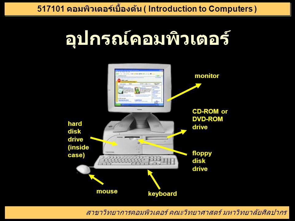 วัตถุประสงค์ รู้จักอุปกรณ์ต่าง ๆ ของคอมพิวเตอร์ และ วิธีการเปิด - ปิดเครื่อง รู้จักระบบปฏิบัติการ (Operating System- OS) การใช้งาน Windows เบื้องต้น ก