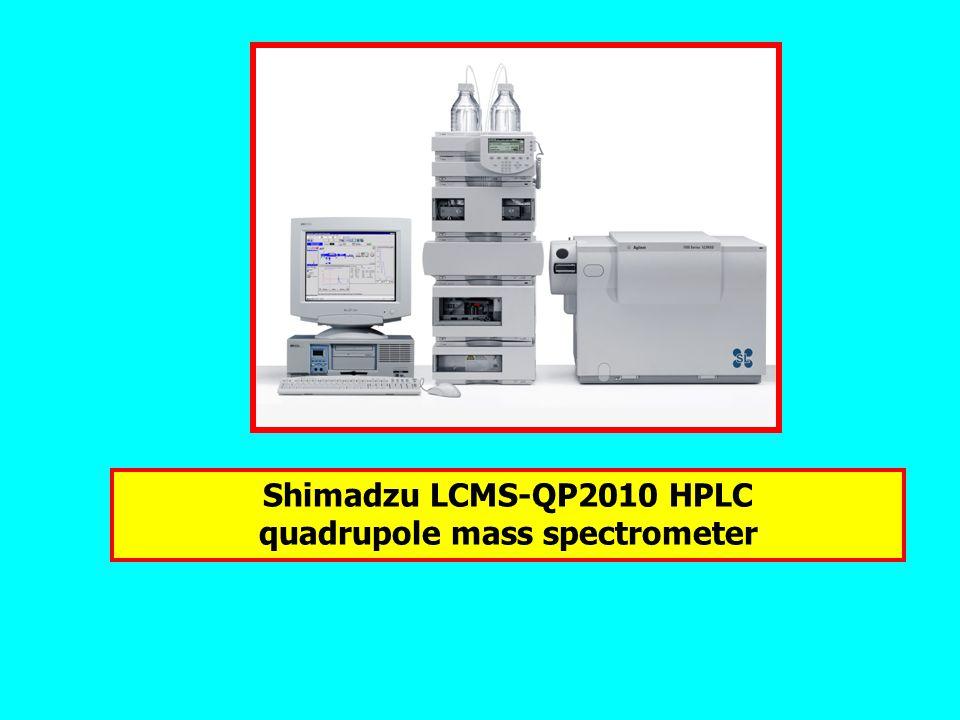 Shimadzu LCMS-QP2010 HPLC quadrupole mass spectrometer