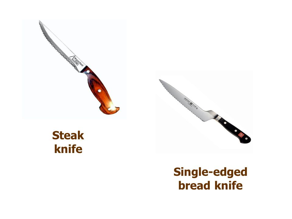 Steak knife Single-edged bread knife