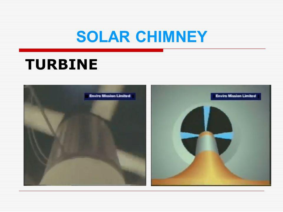 SOLAR CHIMNEY TURBINE