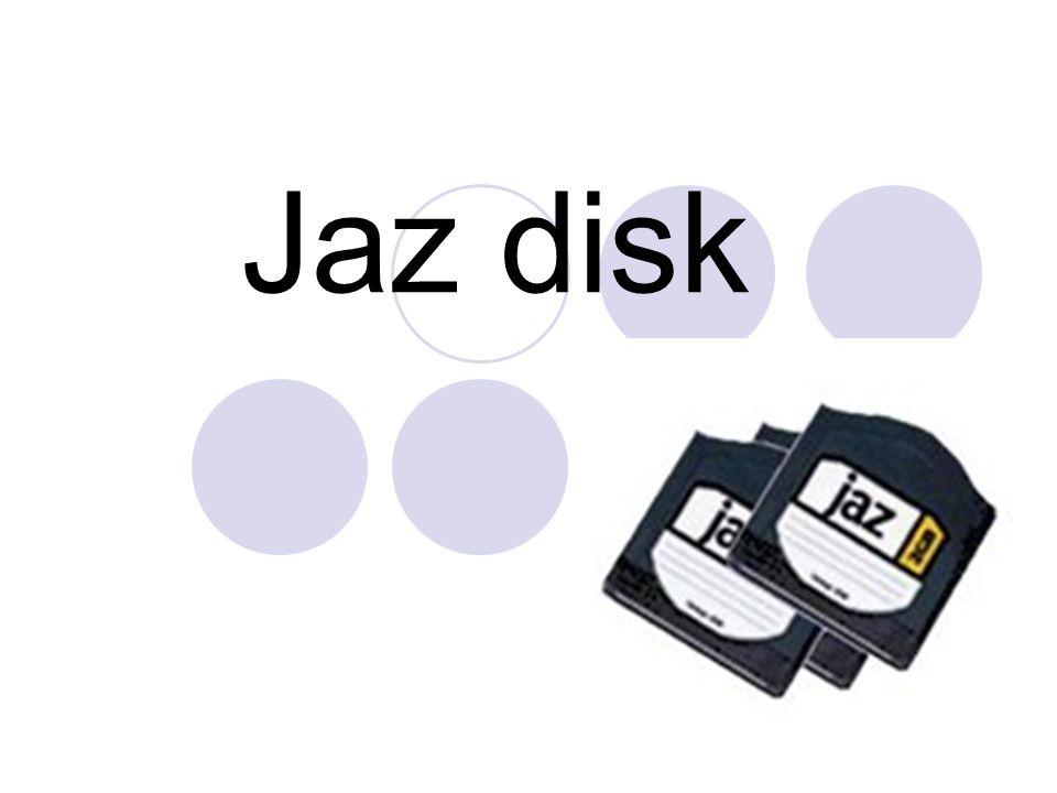 อุปกรณ์บันทึกข้อมูลลักษณะเดียวกับ ZIP Disk/Drive ความจุสูงขนาด 1 GB และ 2 GB มี ขนาดของแผ่นใกล้เคียงกับแผ่นซิปดิสก์ แต่มี ความหนามากกว่า การอ่านหรือเขียนข้อมูลลงแผ่นต้องอาศัยเครื่อง อ่าน การต่อกับเครื่องคอมพิวเตอร์ต้องอาศัย SCSI card ซึ่งมีความเร็วสูง มีลักษณะคล้ายดิสเก็ต แต่มีความจุสูงใกล้เคียง กับฮาร์ดดิส สามารถติดตั้งได้ทั้งภายในและ ภายนอกเครื่อง