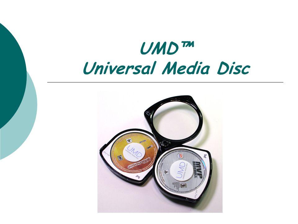 UMD™ Universal Media Disc