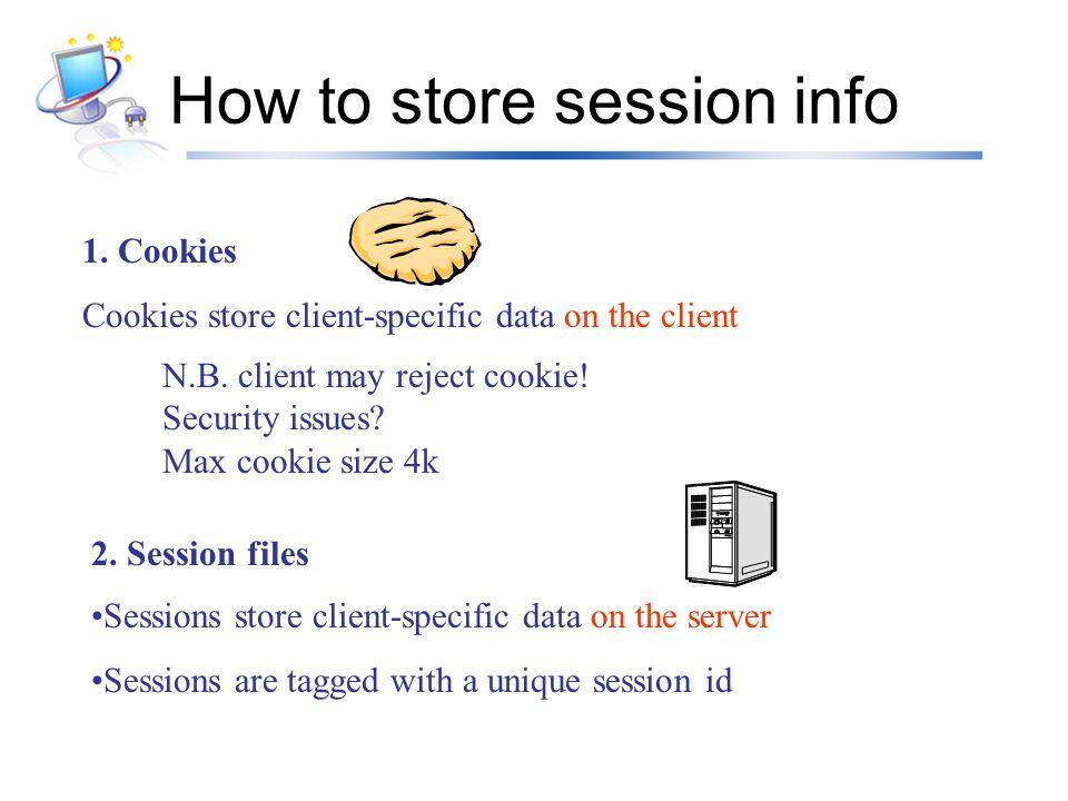 อื่นๆ ในไฟล์ php.ini ถ้าเราอยากให้สคริปต์อื่นเริ่มใช้งาน session ได้ เลย โดยไม่ต้องใช้คำสั่ง session_start() ก็ สามารถกำหนดได้โดยให้ กำหนดให้ตัวแปร session มีอายุเหมือนตัวแปร cookie แต่จะทำให้ตัวแปร session ทุกตัวมี อายุเท่ากันหมด ทำได้โดย session.auto_start = 1 { ปรกติค่าเป็น 0} session.cookie_lifetime = เวลาวินาที { ปรกติค่าเป็น 0}