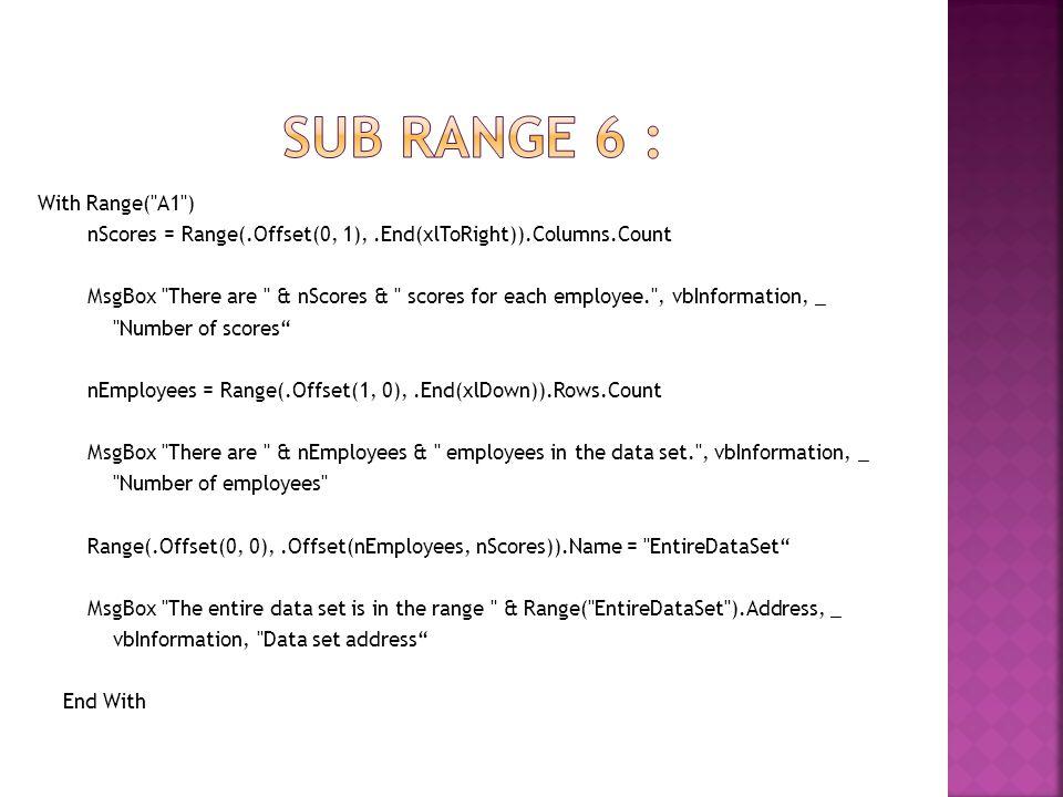With Range(