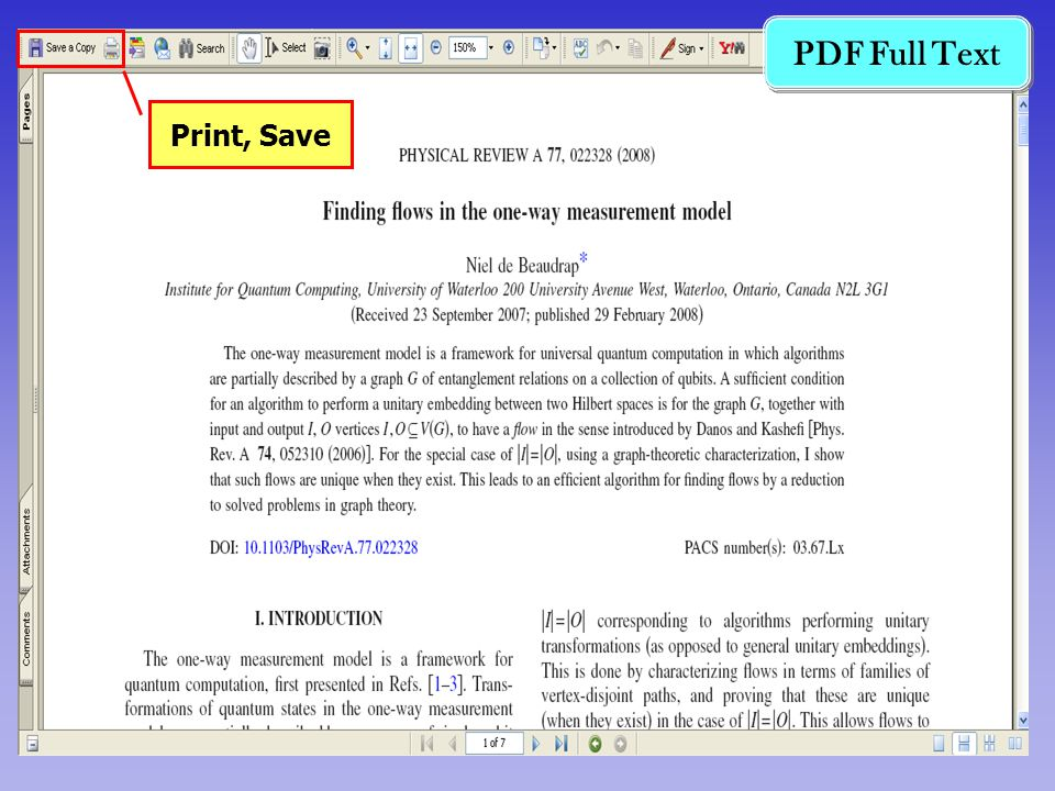 PDF Full Text Print, Save