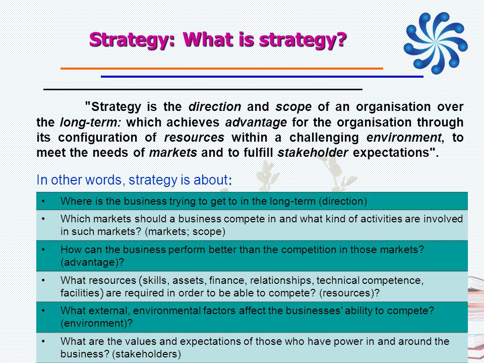 Strategy: What is strategy? 21/07/57 PERDO-สบว 43