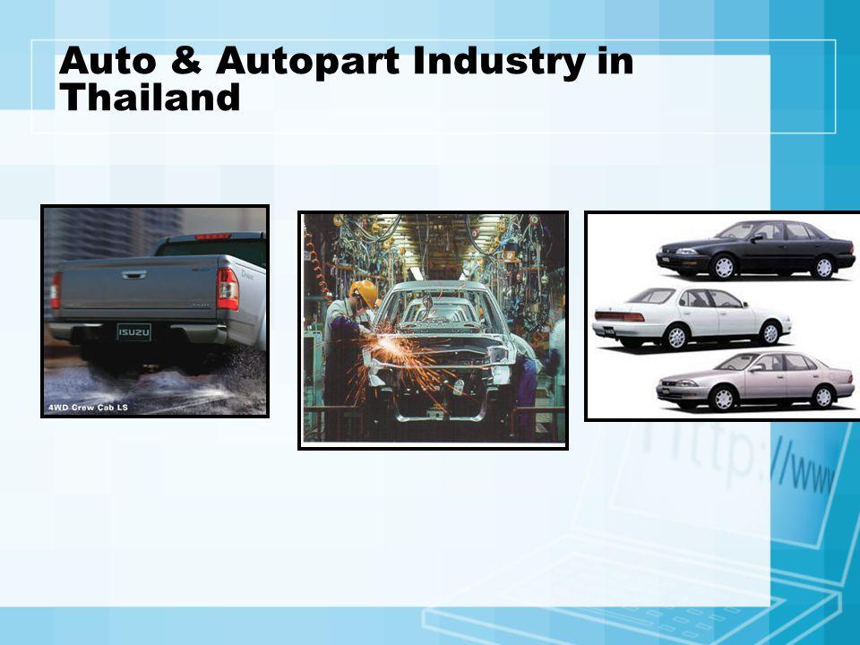 Auto & Autopart Industry in Thailand