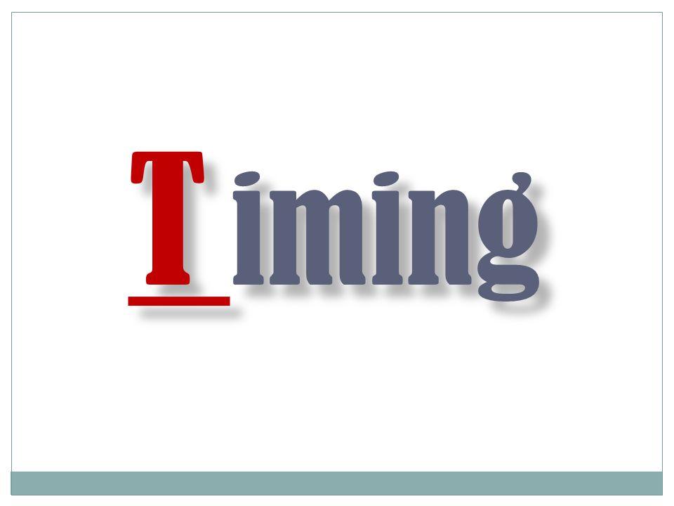 T iming