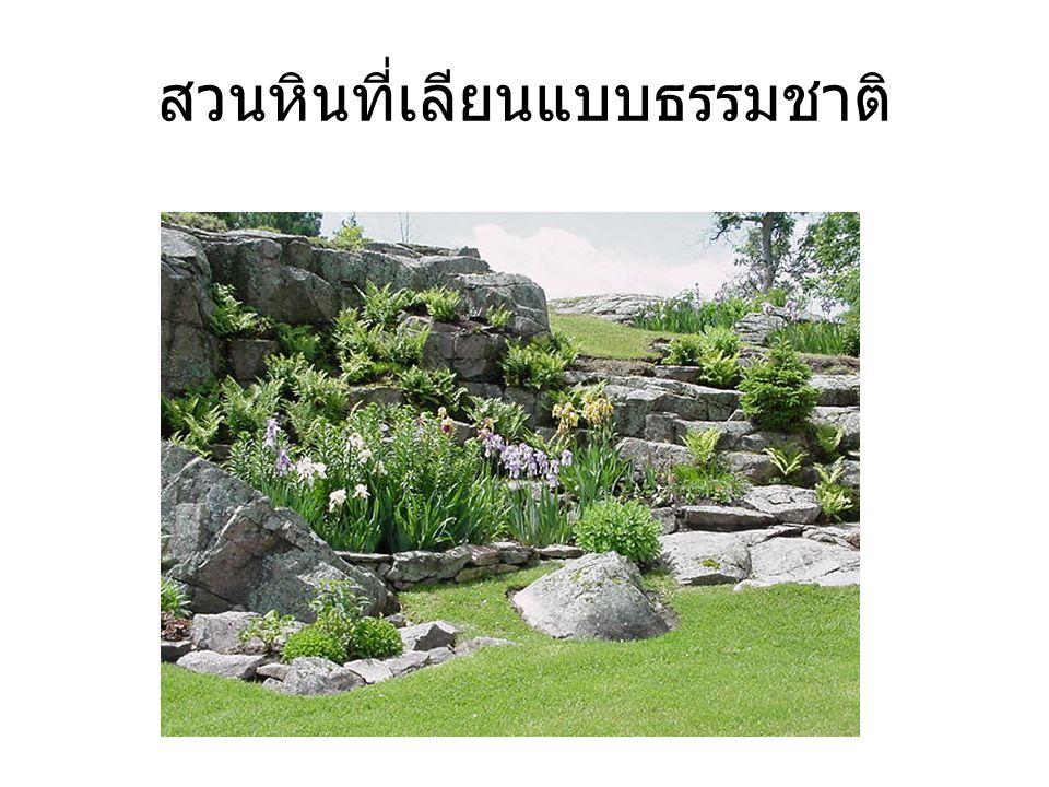 สวนหินที่เลียนแบบธรรมชาติ