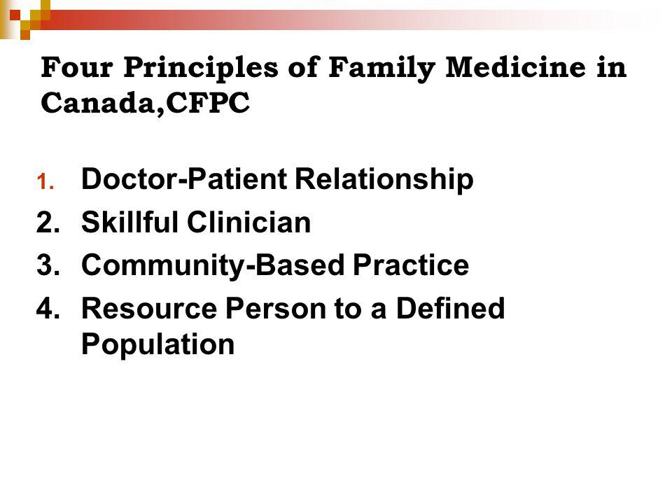 แพทย์เวชศาสตร์ครอบครัว ไม่ใช่ ( แค่ ) หมอทั่วไป หมอประจำตัวคนไข้และครอบครัว An expert to explore the complex interaction of physical, psychological and social problem
