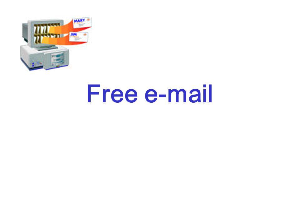 Free e-mail