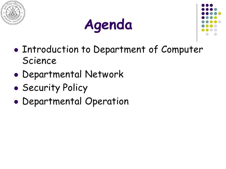 Department of Computer Science Establish on October 4, 1993.