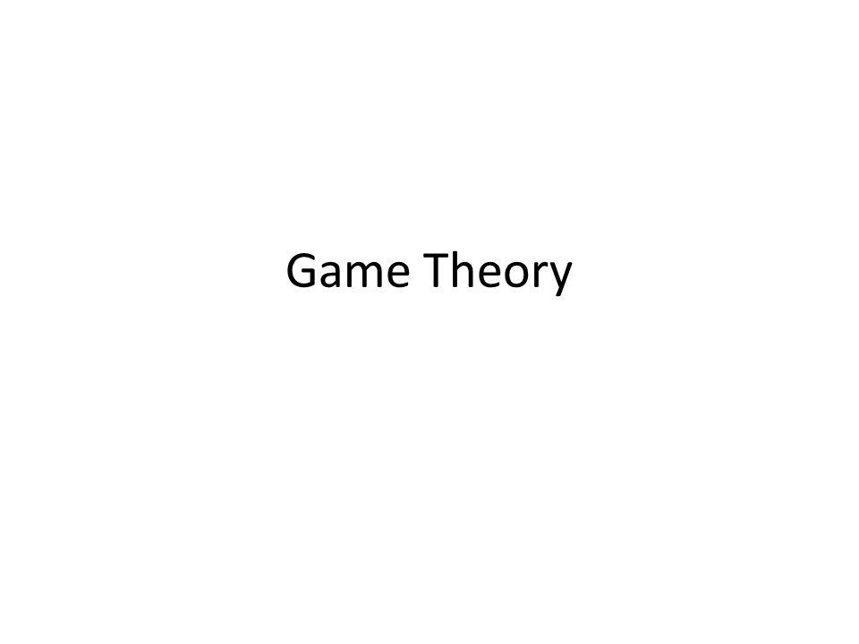 History John von Neumann and Morgenstern wrote a book titled Theory of Games and Economic Behavior Used in Business, Economics, Social Sciences, etc.