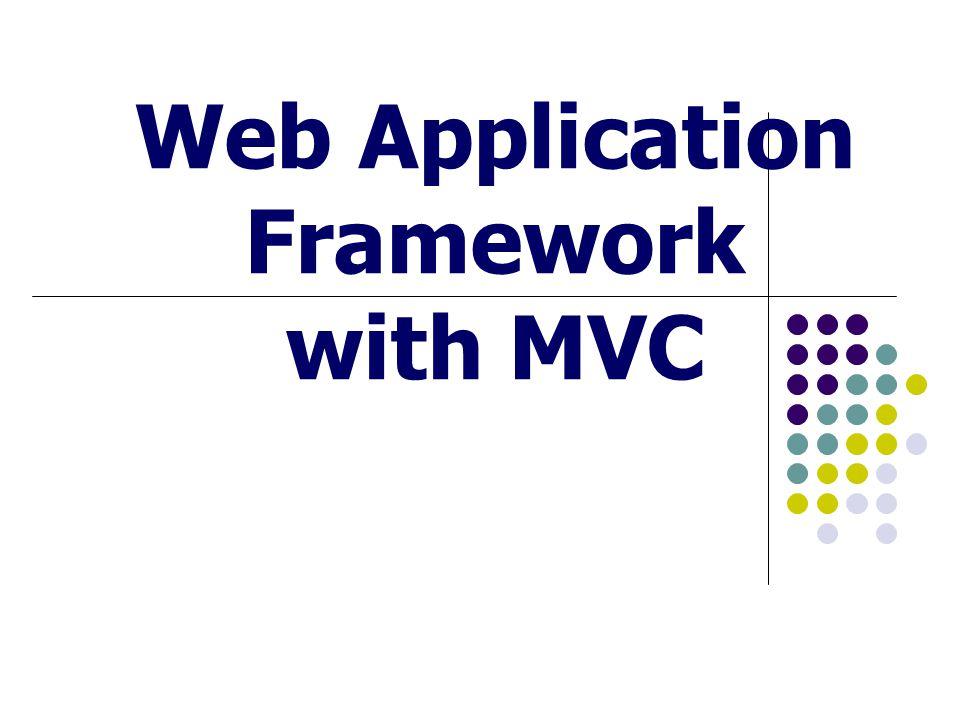 Create By Charinya Klakhang And Jaru Tangpoonpholwiwat Outline Framework Web Application Framework MVC คืออะไร ส่วนประกอบของ MVC การทำงานร่วมกันของ MVC ตัวอย่าง Web App.