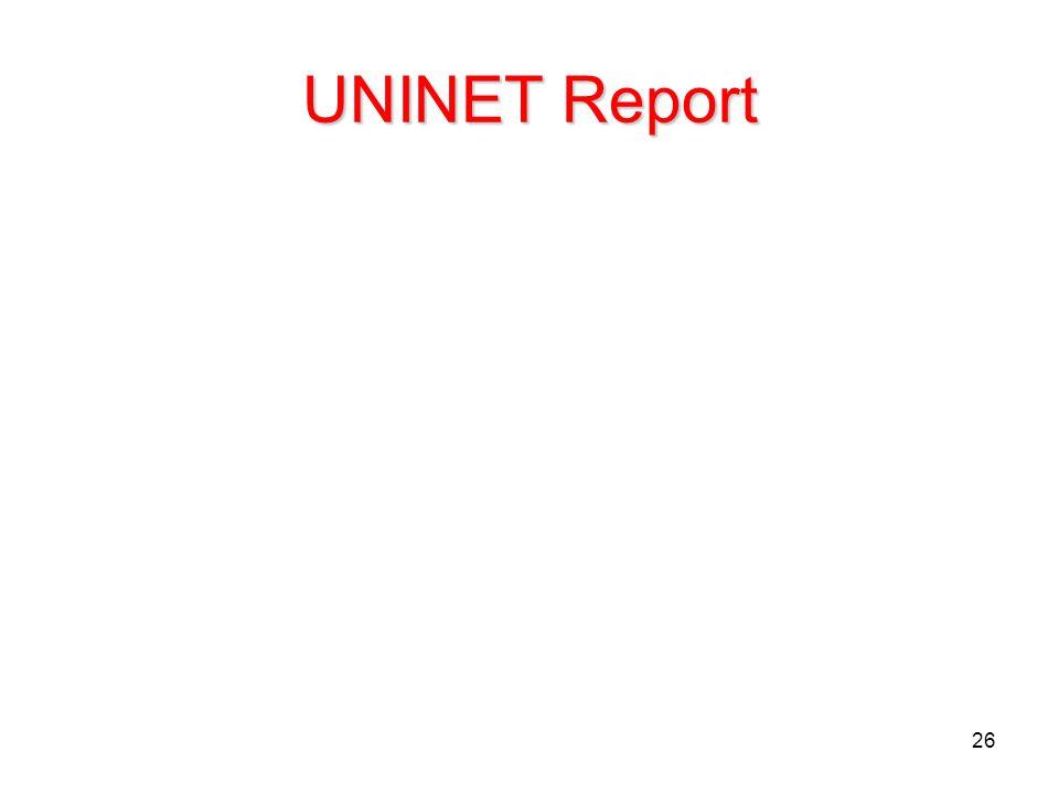 26 UNINET Report